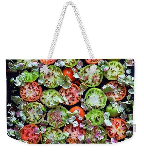 Spiced Tomatoes Weekender Tote Bag