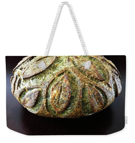 Spicy Spinach Sourdough 2 Weekender Tote Bag