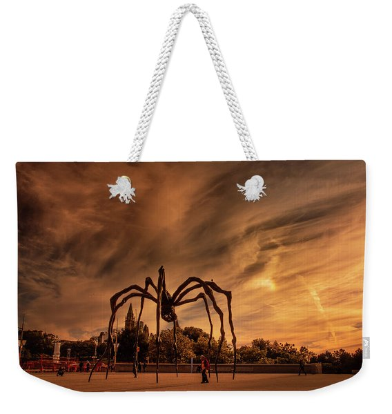 Spider Maman - Ottawa Weekender Tote Bag