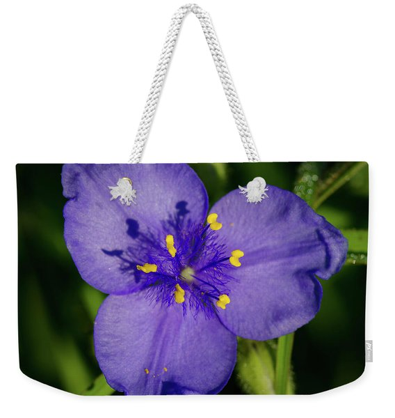 Spiderwort Flower Weekender Tote Bag