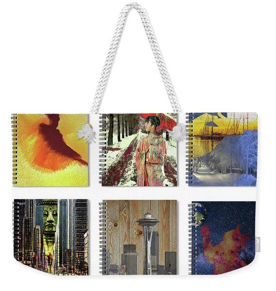 Spiral Notebooks Samples Weekender Tote Bag