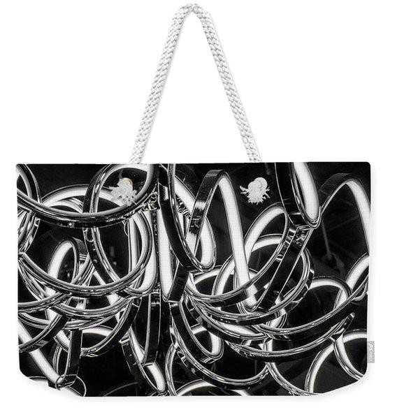 Spirals Of Light Weekender Tote Bag