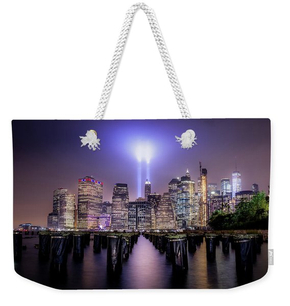 Spirit Of New York II Weekender Tote Bag