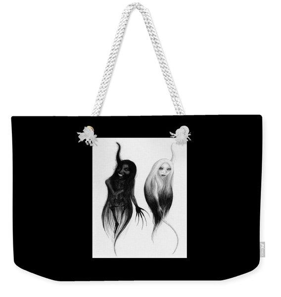 Spirits Of The Twin Sisters - Artwork Weekender Tote Bag