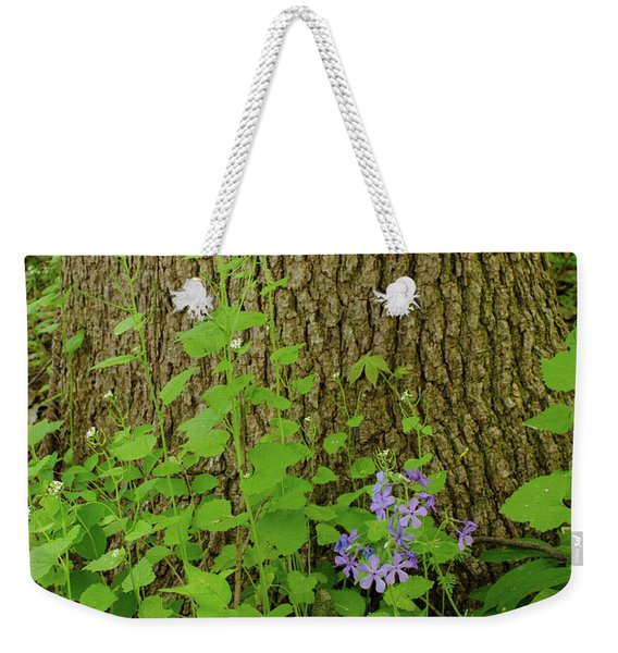 Splash Of Purple Weekender Tote Bag