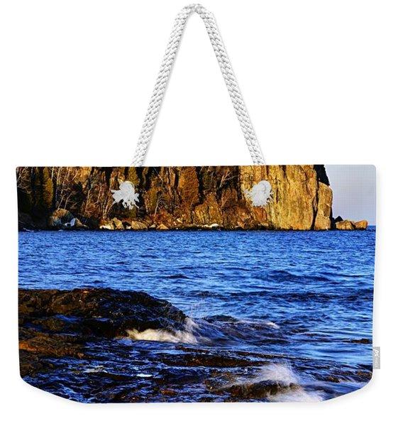 Split Rock Lighthouse Weekender Tote Bag