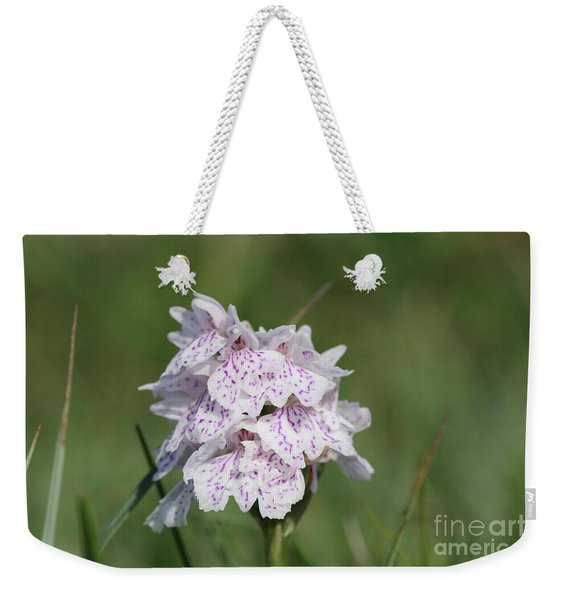 Spotted Heath Orchid Weekender Tote Bag