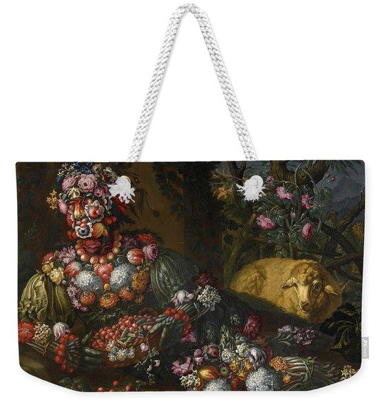 Spring Weekender Tote Bag