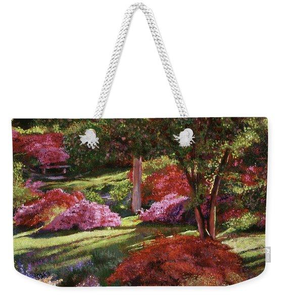 Spring Azaleas In The Park Weekender Tote Bag