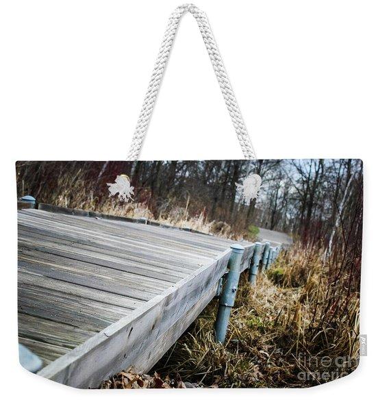 Spring Boardwalk Weekender Tote Bag
