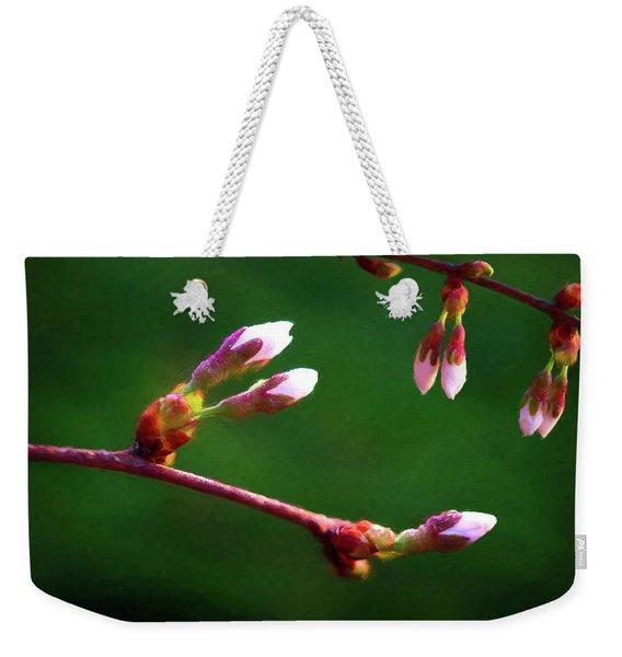 Spring Buds - Weeping Cherry Tree Weekender Tote Bag
