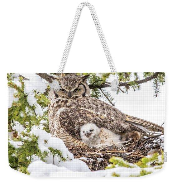 Spring Caregiver Weekender Tote Bag