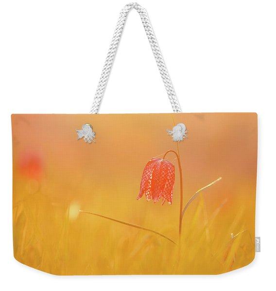 Spring Delight - Snake Heads Fritillary  Weekender Tote Bag