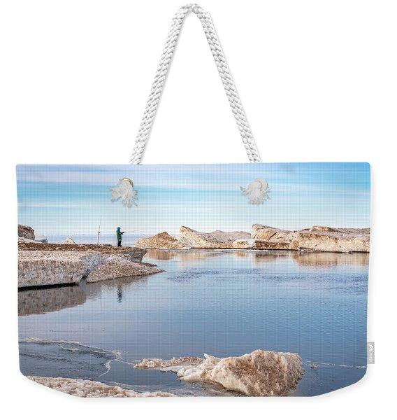 Spring Fishing Weekender Tote Bag
