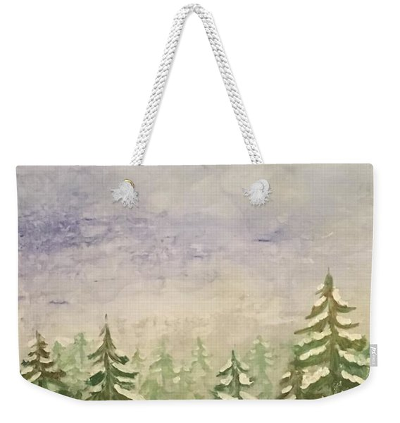 spring flurry Teton Style Weekender Tote Bag