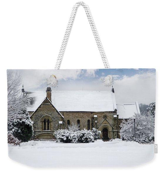Spring Grove Chapel Weekender Tote Bag