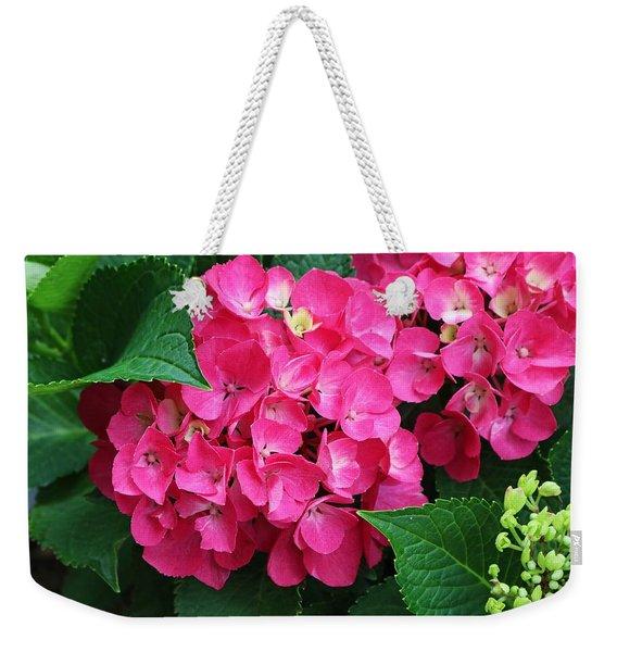 Spring Hydrangea Weekender Tote Bag