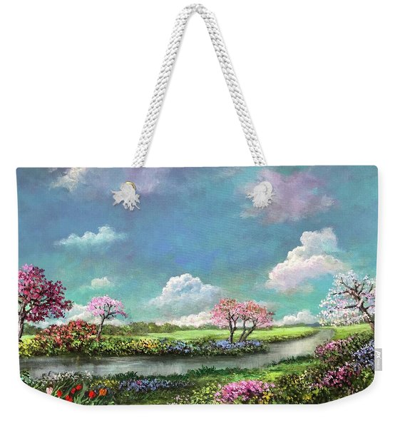 Spring In The Garden Of Eden Weekender Tote Bag