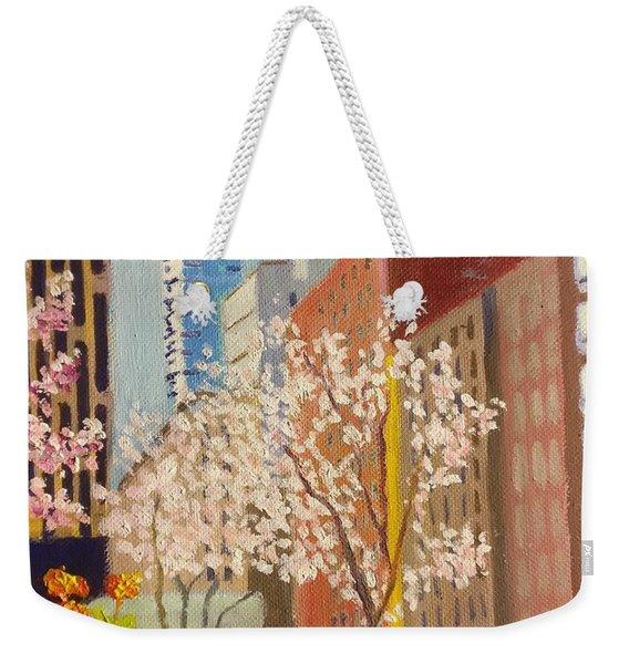 Spring In Worth St Weekender Tote Bag