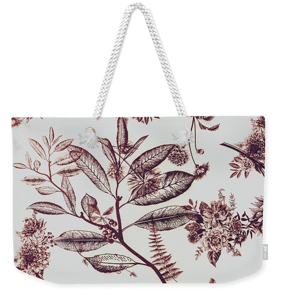 Spring Ink Weekender Tote Bag