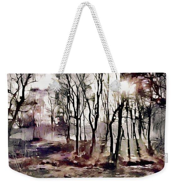Spring Morning Mist Weekender Tote Bag