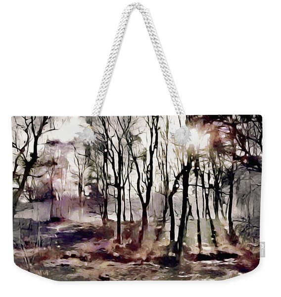 Spring Morning Mist Weekender Tote Bag