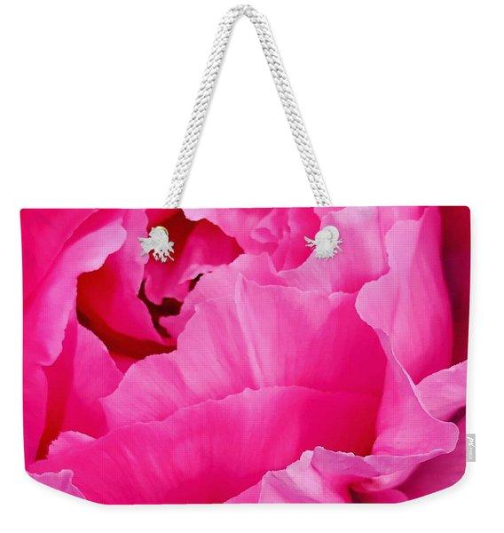 Spring Rose Weekender Tote Bag
