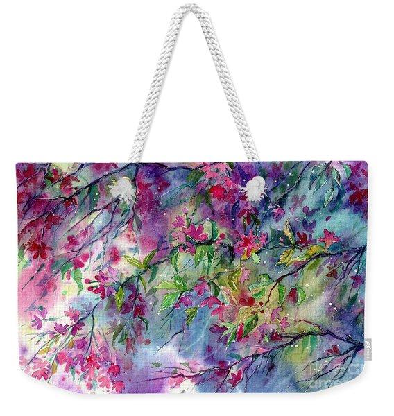 Spring Storm Weekender Tote Bag