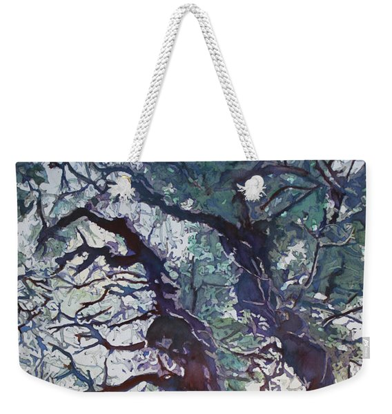 Spring Tangle Weekender Tote Bag