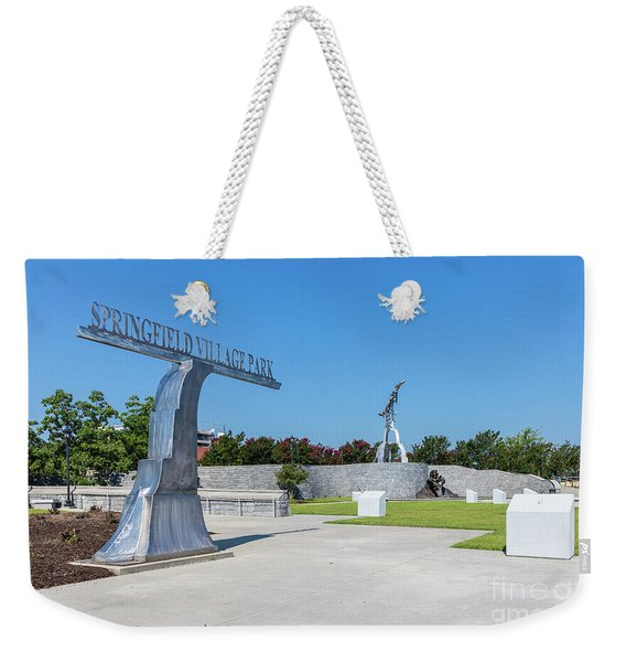 Springfield Village Park - Augusta Ga Weekender Tote Bag