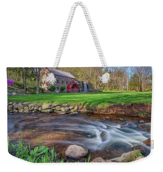 Springtime At The Grist Mill Weekender Tote Bag