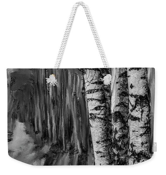 springtime ligh BW #i6 Weekender Tote Bag