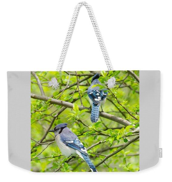 Springtime Pairs Weekender Tote Bag