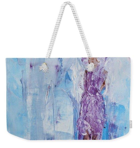 Spunky Angel Weekender Tote Bag