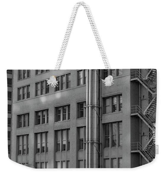 Squares And Lines Weekender Tote Bag