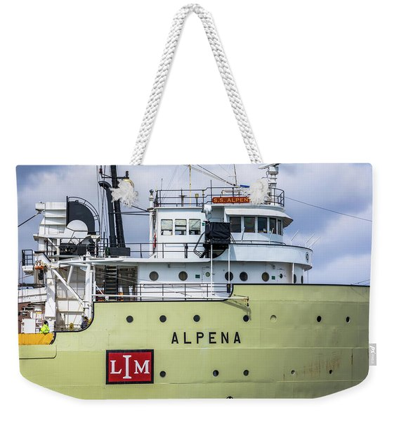 Ss Alpena Weekender Tote Bag