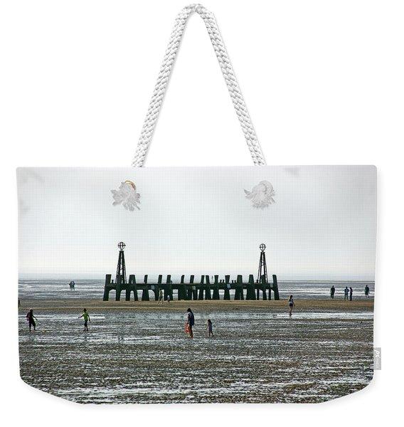 St. Annes. On The Beach. Weekender Tote Bag