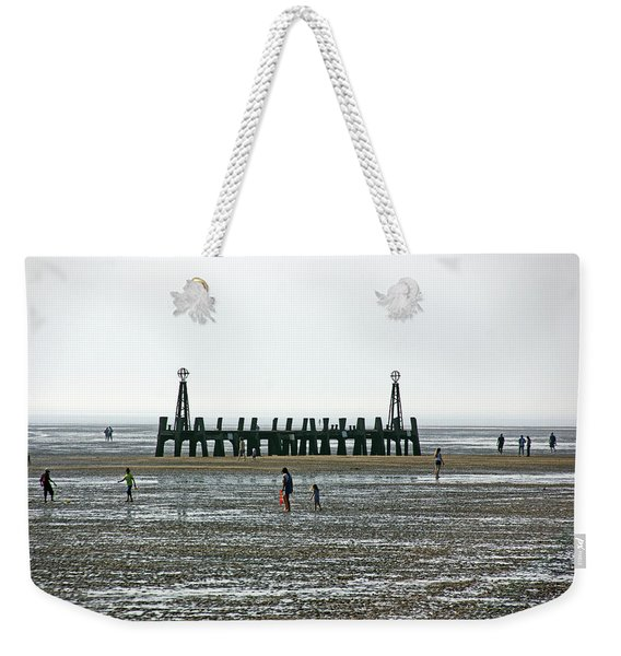 St. Annes. On The Beach. Weekender Tote Bag