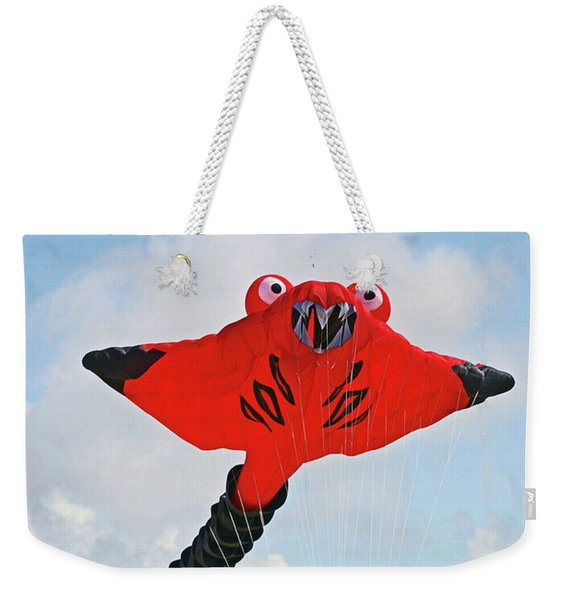 St. Annes. The Kite Festival Weekender Tote Bag
