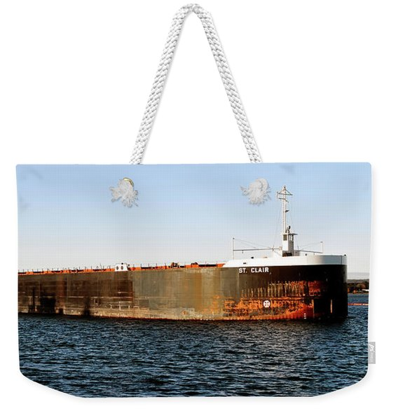 St. Clair Summer Wear And Tear Weekender Tote Bag