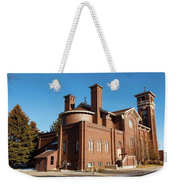 St. Leo Catholic Church Weekender Tote Bag