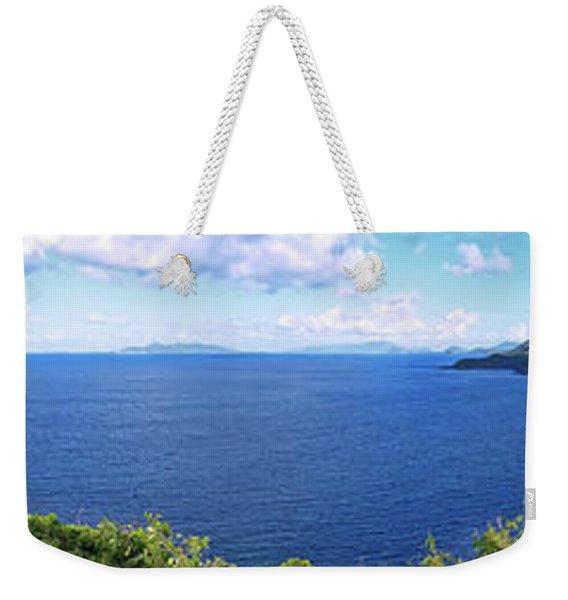 St. Thomas Northside Ocean View Weekender Tote Bag