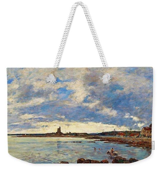 St. Vaast-la-hougue - Digital Remastered Edition Weekender Tote Bag