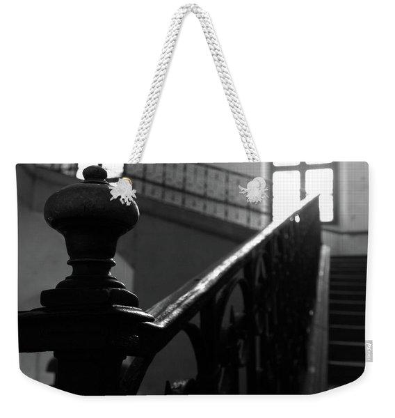Stairs, Handrail Weekender Tote Bag