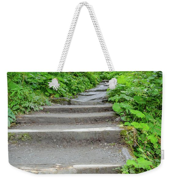 Stairs To The Woods Weekender Tote Bag