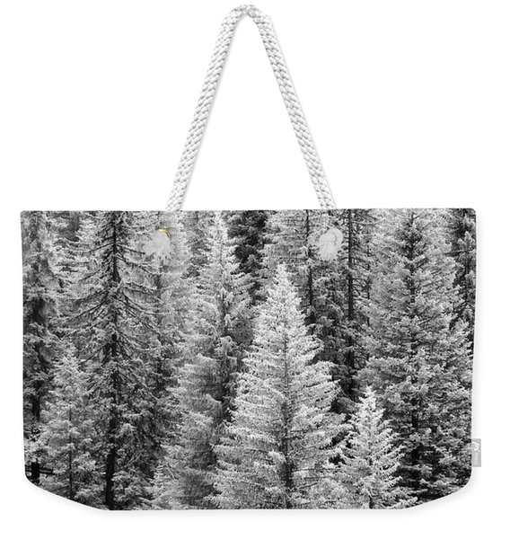 Standing Tall In The French Alps Weekender Tote Bag