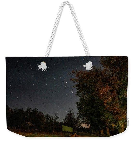 Star Light Star Bright Weekender Tote Bag