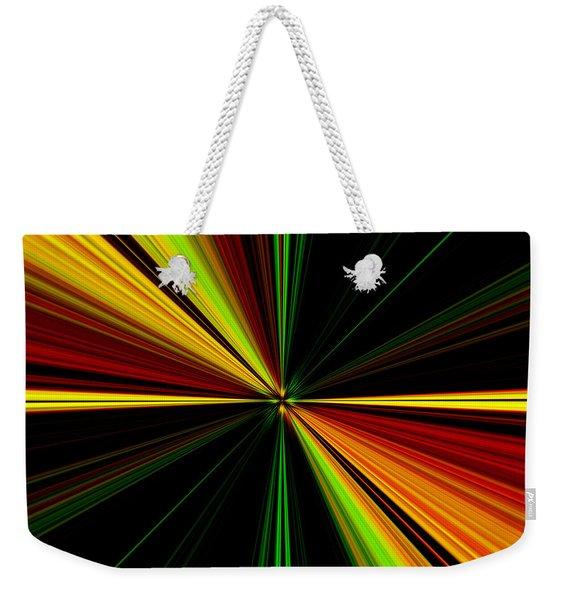 Starburst Light Beams Design - Plb461 Weekender Tote Bag