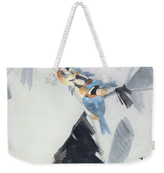 Starlings - Digital Remastered Edition Weekender Tote Bag