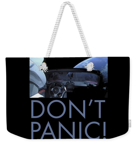 Starman Don't You Panic Now Weekender Tote Bag